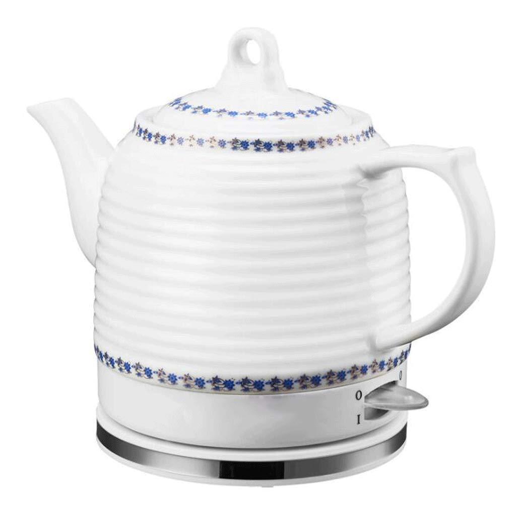 YSkettle Wasserkocher blau und weiß Porzellan Abnehmbare Basis Kochen trocken Schutz (einfach) kocht Wasser schnell für…