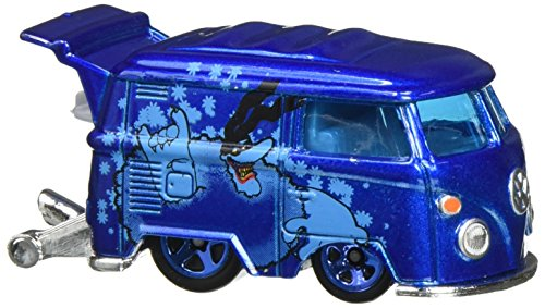 2016 Hot Wheels THE BEATLES 50th Anniversary THE YELLOW SUBMARINE Blue Mini Bus 1:64 Scale Collectible Die Cast Metal Toy Car Model 6/6 by Hot Wheels