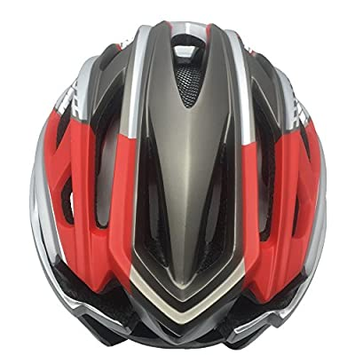 ScottEdward - 9X Colours Cycle Helmet,Adults Men and Women Sport Bike Helmet for Road & Mountain Biking,Lightweight with Detachable Magnetic Visor Shield Goggles Helmet from ScottEdward Sporting