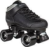Rookie Raw Roller Derby Rollschuhe schwarz (schwarz)