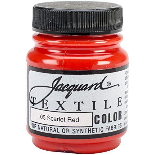 Scarlt Jacquard Products-Vernice per tessuti, colore rosso,