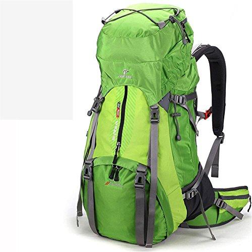 ALUK-Borsa arrampicata all'aperto tracolla zaino trekking impermeabile zaino verde