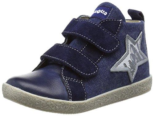 Naturino Falcotto 1476 Vl, Baskets premiers pas bébé garçon Bleu - Blau (TAMP./VEL./DELAVÈ BLEU)