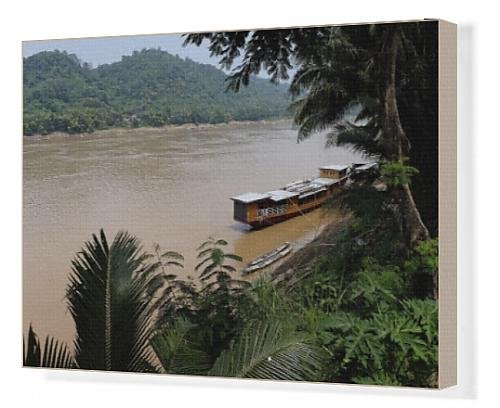 canvas-print-of-banks-of-the-mekong-river-luang-prabang-laos-indochina-southeast-asia-asia