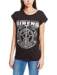 Plastic Head Sleeping With Sirens Crest Grst - T-shirt - Femme