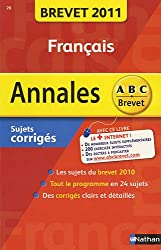 Francais : Sujets corrigés