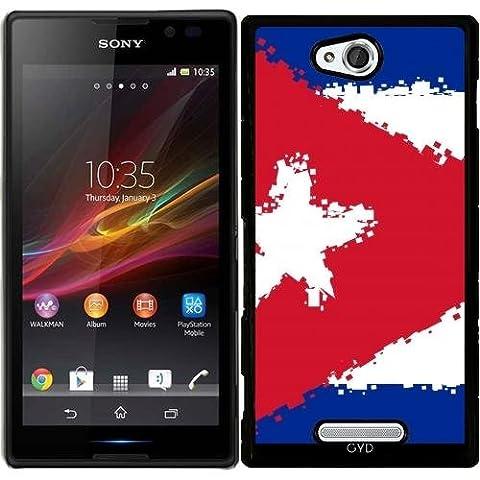 Hülle für Sony Xperia C S39H - Kuba by Cadellin