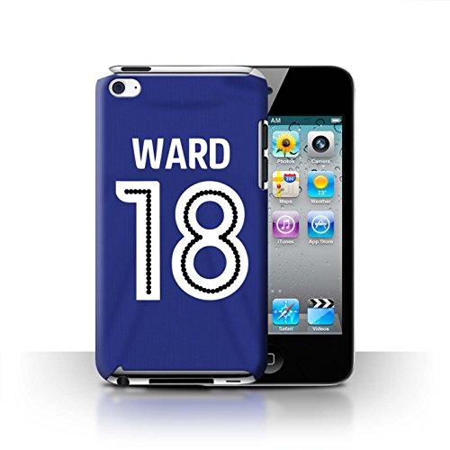 Preisvergleich Produktbild Offiziell Ipswich Town FC Hülle / Case für Apple iPod Touch 4 / Ward Muster / ITFC Trikot Home 16/17 Kollektion