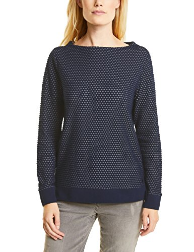 Cecil Damen 311609 Pullover, deep Blue, X-Large -