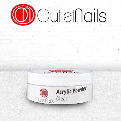 Acrilico polvere trasparente 30g / polvere acrilica trasparente 30 g / acrylic powder clear per unghie / outlet nails