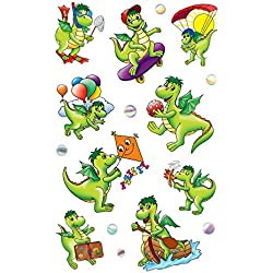 KID Sticker Papier Drache54043