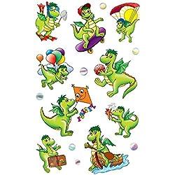 KID Sticker Papier Drache54043