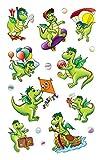 AVERY Zweckform 54043 Kinder Sticker Drachen 27 Aufkleber