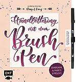 Handlettering mit dem Brush Pen: Grundlagen, Alphabete und Projekte: Mit original Tombow ABT Dual Brush Pen
