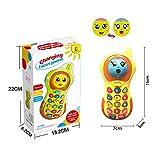 Baby-Telefon-Spielzeug 3-12 Monate, Baby-Telefon-Spielzeug 6-9 Monat altes Spielzeug-Geschenk für Baby-Mädchen-Jungen-Spielzeug 9-18 Monate Kleinkinder-Baby-Spielzeug-Telefon für 1 2 3 Jahre Olds Jungen-Mädchen-Geburtstags-Geschenk für 6 Monate alte Jungen-Spielwaren