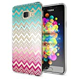 NALIA Handyhülle für Samsung Galaxy A3 2016, Slim Silikon Motiv Case Hülle Cover Crystal Schutzhülle Dünn Durchsichtig Etui Handy-Tasche Backcover Transparent Phone Bumper, Designs:Colorful Lines