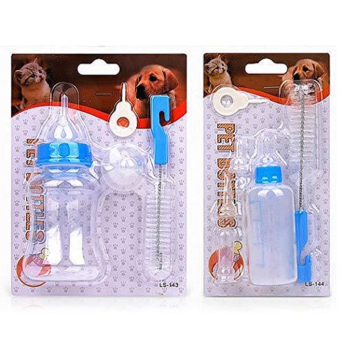 Legendog Haustier Krankenpflege Flaschen Ausrüstungs Universal Welpen Saugflasche Kätzchen ()