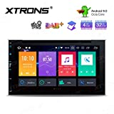"""XTRONS 6.95"""" 8 Core Android Double DIN Autoradio mit Touchscreen Auto Multimedia Player Android 9.0 Octa Core Autostereo 2DIN CAR Auto Play 4G Bluetooth 4GB RAM 32GB ROM DAB OBD2 TPMS UNIVERSAL"""