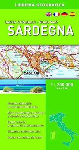 Sardegna. Carta stradale 1:200.000