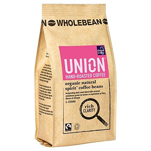 Gewerkschaft Hand Geröstete Bio Fairtrade- Naturgeistwholebean Kaffee (227G)