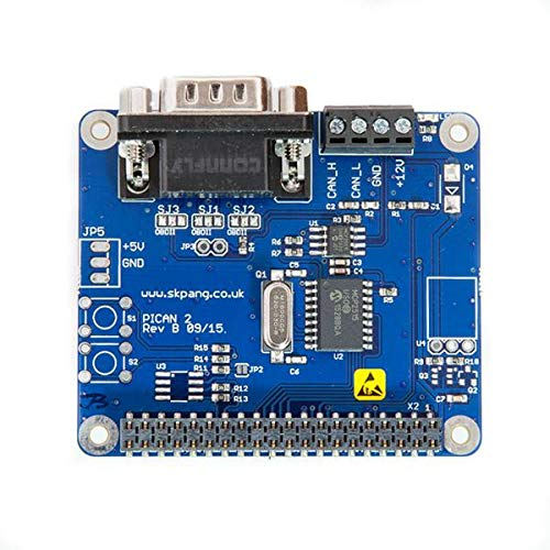 NEU! PiCan2 CAN-Bus Board for Raspberry Pi 2/3