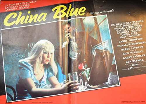 China Blue. Con Kathleen Turner e Anthony Perkins