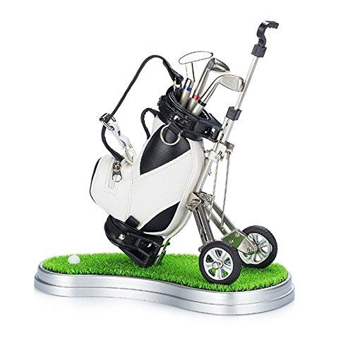 Golf Geschenke Stifthalter, Golf Souvenirs Dekorationen Schreibtisch Neuheit Creative Geschenke für...