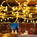 LED Lichtschlauch 20M, AMBOTHER LED Lichterkette 200 LEDs Warmweiß 8 Modi mit Speicherfunktion USB Lichterschlauch mit Fernbedienung IP65 Wasserdicht für Außen Innen Party Bar Weihnachten DIY Deko von Meiyiiel_DE