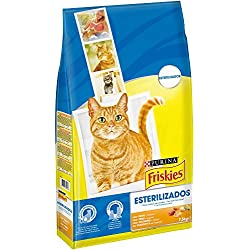 Purina Friskies Esterilizados Pienso para Gato Adulto Pavo y Verduras 7.5 Kg
