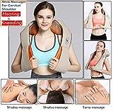 Techtest Massager of Neck Kneading for Cervical Shoulder Pain Relief Back Body Massage