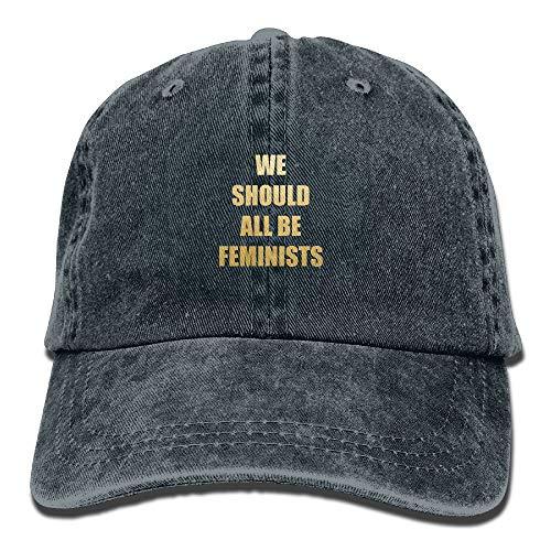Nifdhkw Todos deberíamos ser Feministas Unisex Cowboy Cap Custom para Hombre y Mujer Design23