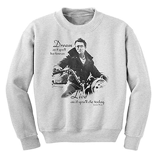 shirtmachine James Dean Sweatshirt (M) - Elvis Hoodie