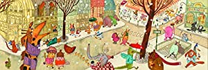 Djeco - Puzzle gallery - paris! - 100pcs