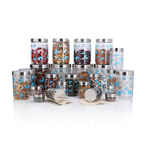Steelo Selo Container Set, 24-Pieces