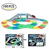 SZSMART Racing Speedway Piste Magique Mini Voiture Circuit Flexible Pistes de Course...