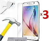 3 Films Vitres Verres de protection d'écran en verre trempé pour écran SAMSUNG GALAXY GRAND PRIME PLUS / GRAND PRIME SM-G530F SMG531F et Samsung Galaxy J2 Prime ( 5 pouces )