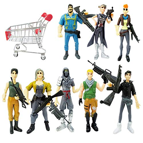ginkago Fortgame Action Figures Modell , Fort Game Character Figures 1