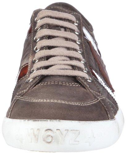 Wyzz Skater Laces 2004726, Chaussures de marche homme Gris-TR-C3-93