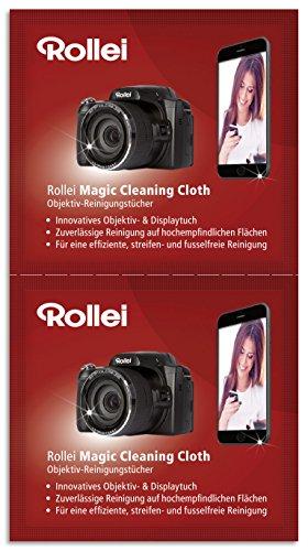 Rollei Magic Cleaning Objektiv-Reinigungstücher für Camcorder/Actioncam/Kamera/Smartphone (100-er Set) - Kamera-objektive Lange