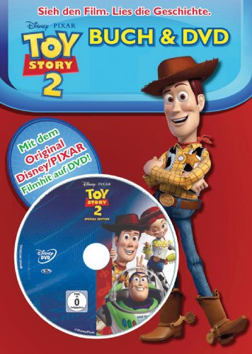Toy Story 2 Buch und DVD - Story Hardcover Toy