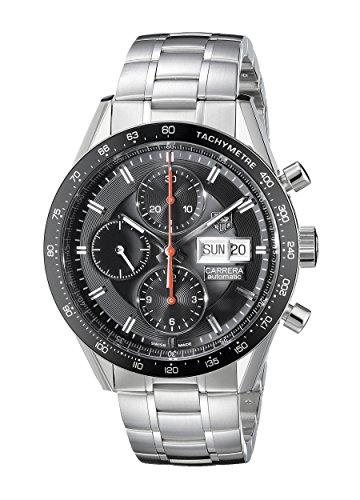 Tag Heuer CV201AH.BA0725–Wristwatch men's, stainless steel silver strap