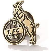 "PIN ANSTECKER ""Logo"" gold antik 1. FC KÖLN"