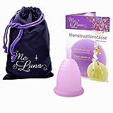 Me Luna Coupe menstruelle Soft, manche, rose, taille L
