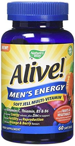 Alive Vitamin (Alive Men's Energy Soft Jell Multivitamis 60 soft jells by Alive)