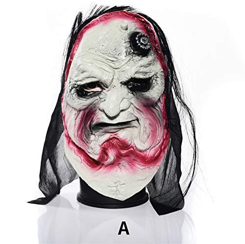 WANJU Halloween Dekoration Prop Tanzmaske Erleuchten Geister Festival Spielzeug Elektrisch Stimmenkontrolle Induktion Dekoration Spukhaus Terror,