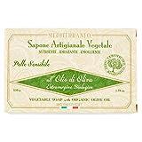 Sapone artigianale vegetale- Olio d'oliva extravergine biologico 150 g.