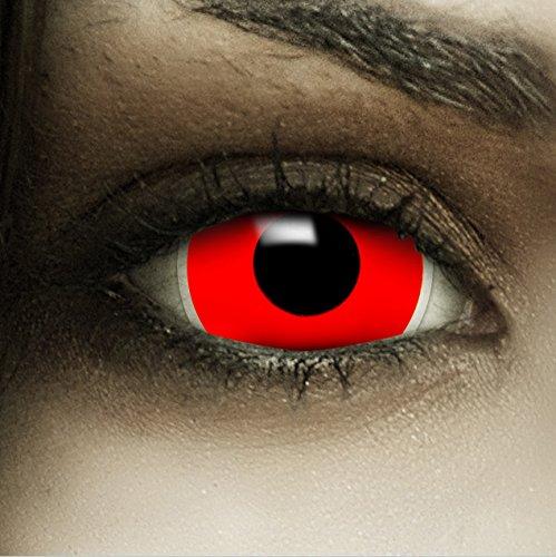 Kostüm Ein Zu Arbeiten Trägt - Mini Sclera Kontaktlinsen