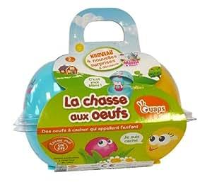 """Ouaps - 61059 - Jouet Premier Age - Composant Barquette : Lots de 2 """"La Chasse aux Œufs"""" - Mimi"""