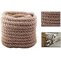 [30m Hemp Rope] Decking Camping Rope 4 Strand Super Strong 35mmx30m Tug Of War Garden Rope Decking