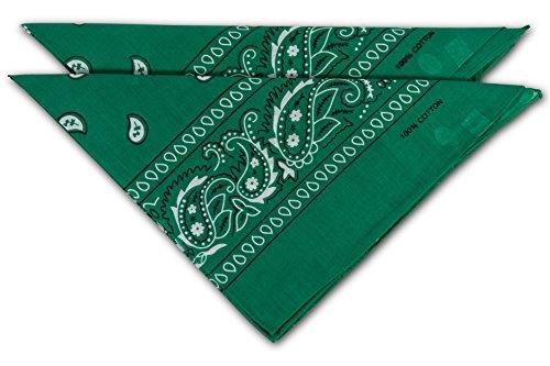 AZO-Frei fashionchimp /® Nicki-Halstuch aus 100/% Baumwolle im 2er Set Unisex Bandana